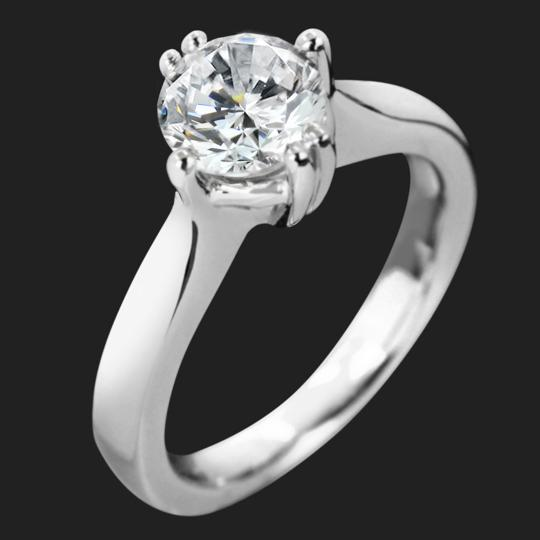 Elissa Solitaire Engagement Ring