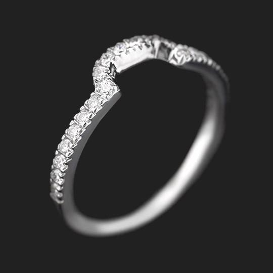 Fashionista Diamond Wedding Band
