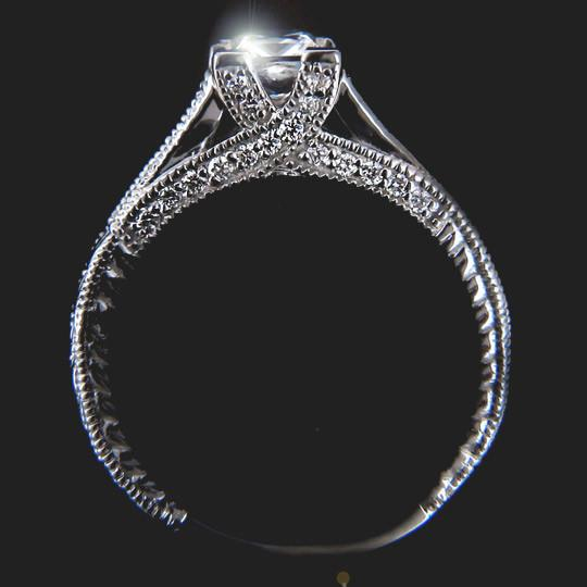 Velvet Kiss Engagement Ring