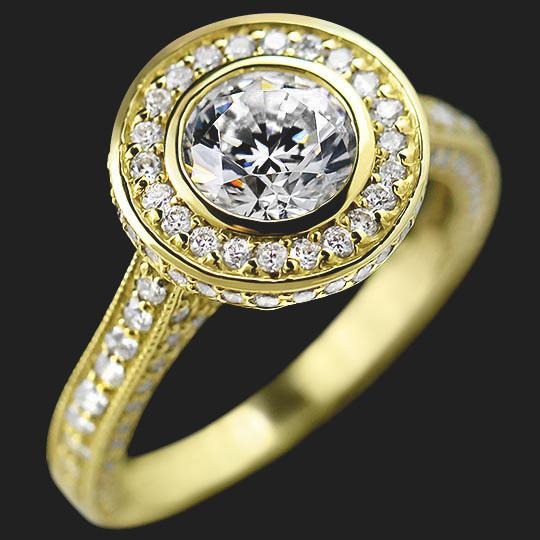 Launa Accented Engagement Ring