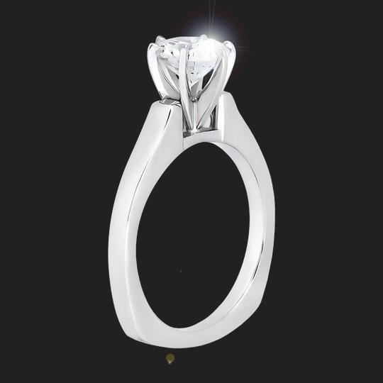 Jersey Solitaire Engagement Ring