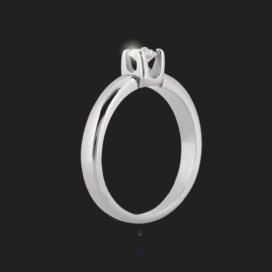 Lola Solitaire Engagement Ring