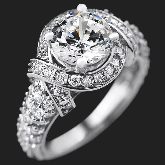Lily Star Engagement Ring