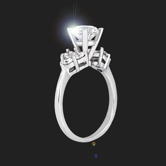 Annabelle Accented Engagement Ring