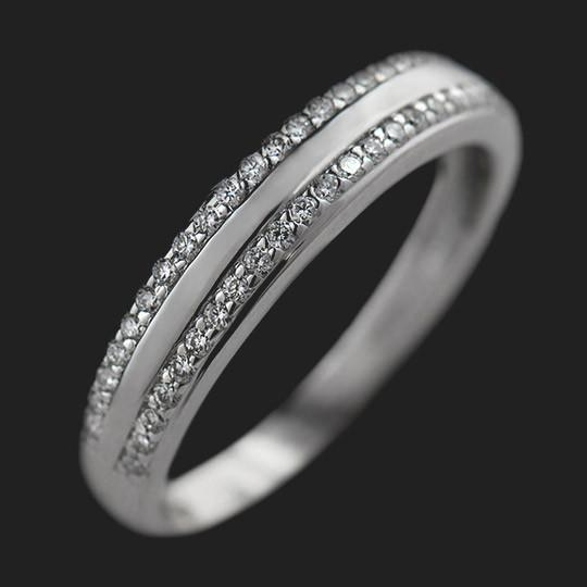 Star Accented Wedding Band