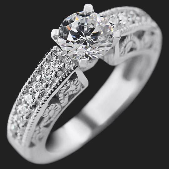 Kadence Antique Wedding Ring