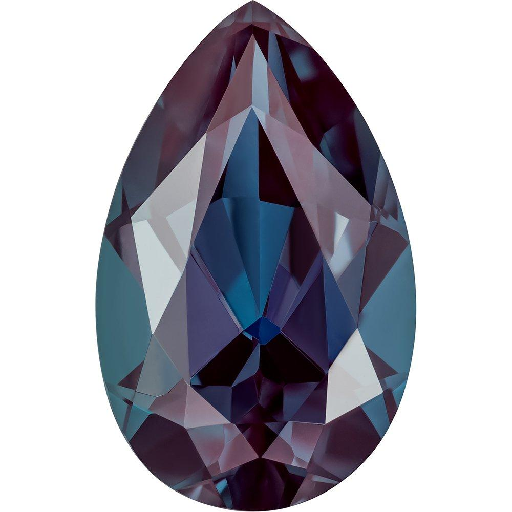 0.95 Carat Pear Cut Alexandrite Lab Created Gemstone