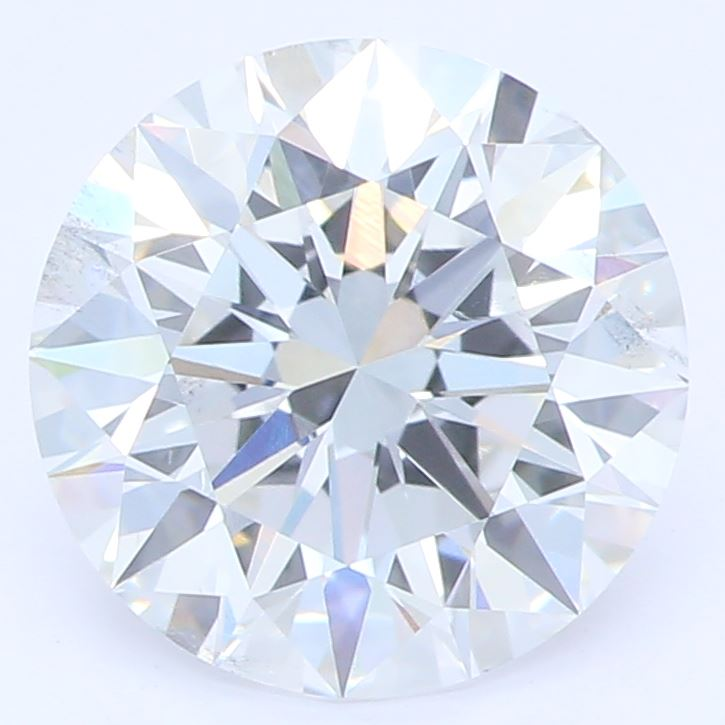 1.54 Carat Round Cut Lab Created Diamond