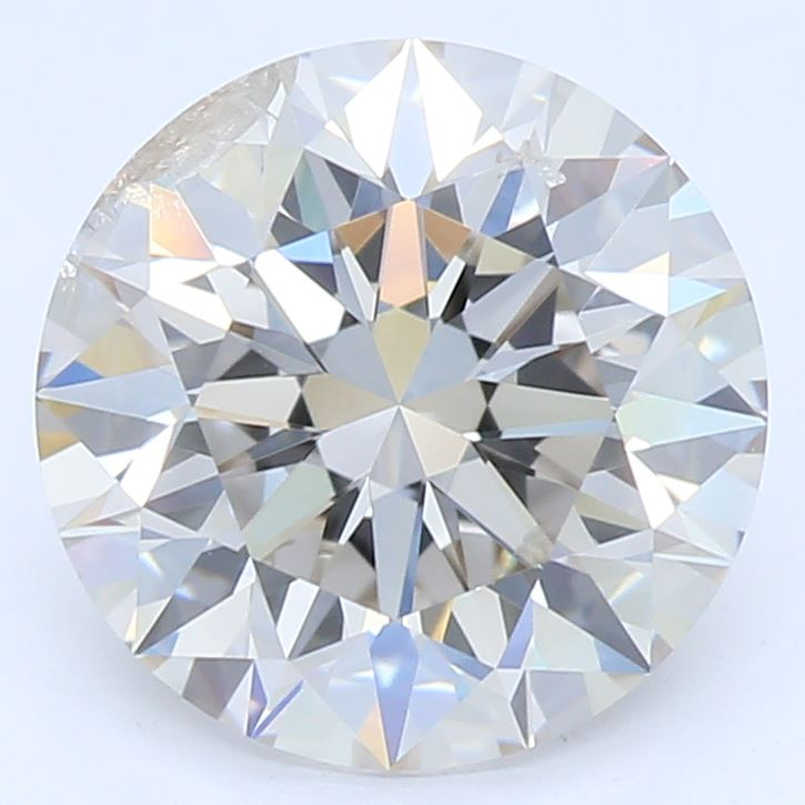 1.63 Carat Round Cut Lab Created Diamond