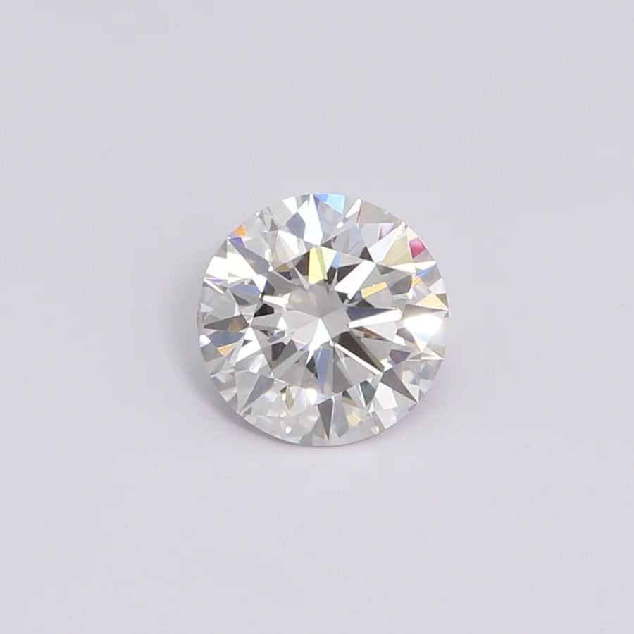 0.32 Carat Round Cut Lab Created Diamond