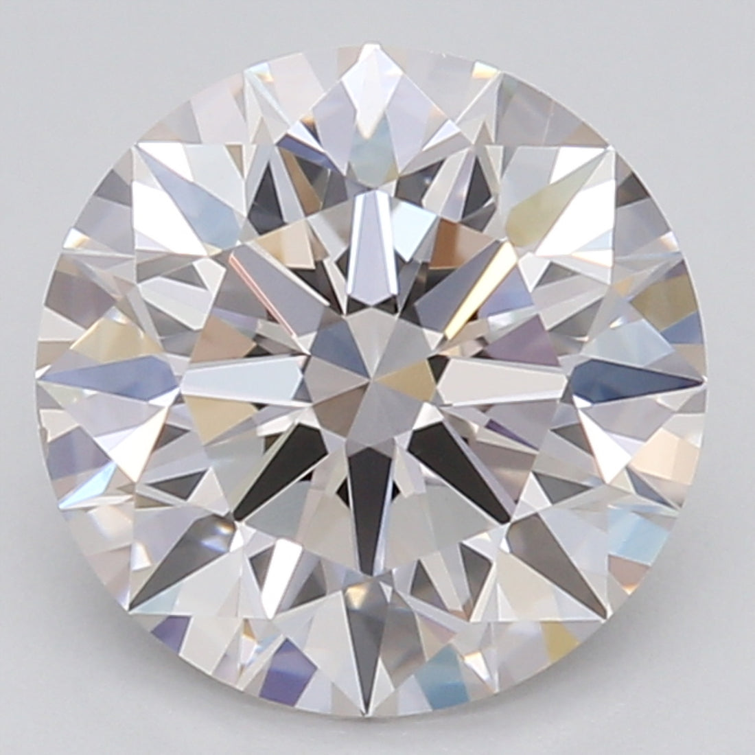 1.22 Carat Round Cut Lab Created Diamond