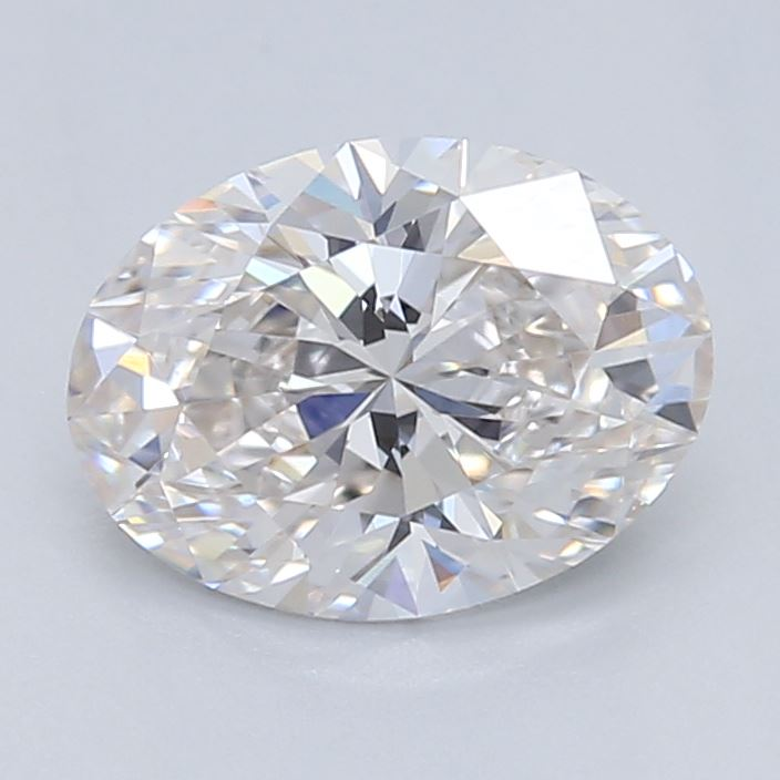 0.56 Carat Oval Cut Lab Created Diamond