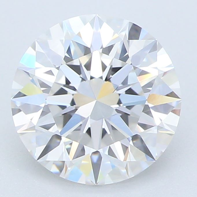 1.13 Carat Round Cut Lab Created Diamond