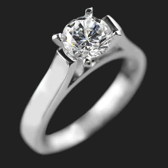 Melissa Solitaire Engagement Ring