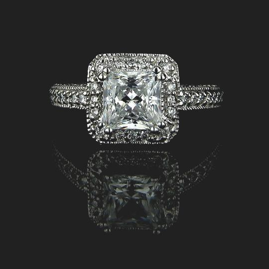 478068b8ea2f2 Megan Antique Engagement Ring