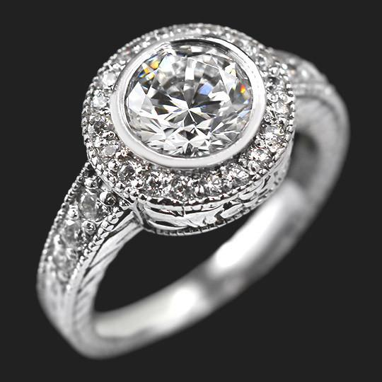 Renee Antique Engagement Ring