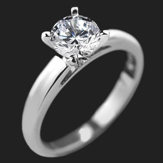 Sophia Solitaire Engagement Ring