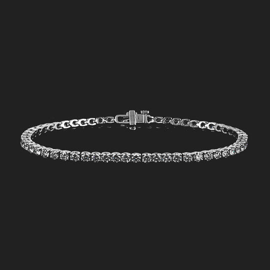 Lab-Grown Diamond Tennis Bracelet - 7.0ctw