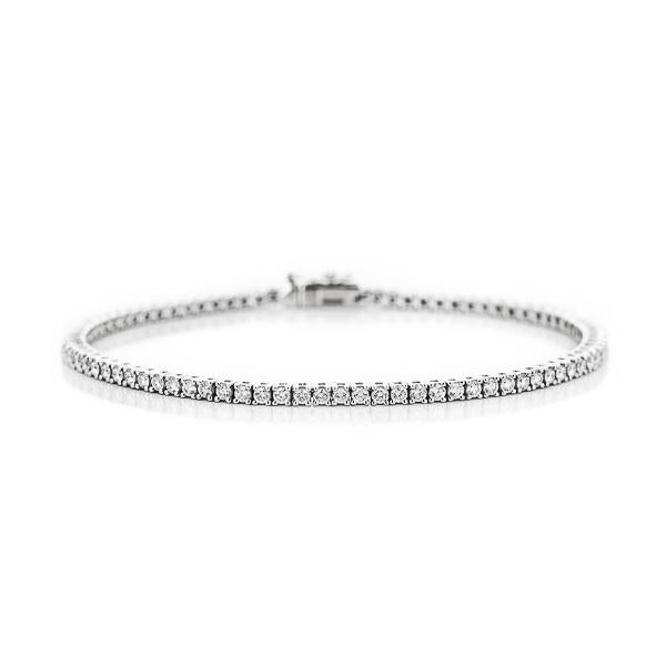 Lab-Grown Diamond Tennis Bracelet (RTS) - 5.0ctw