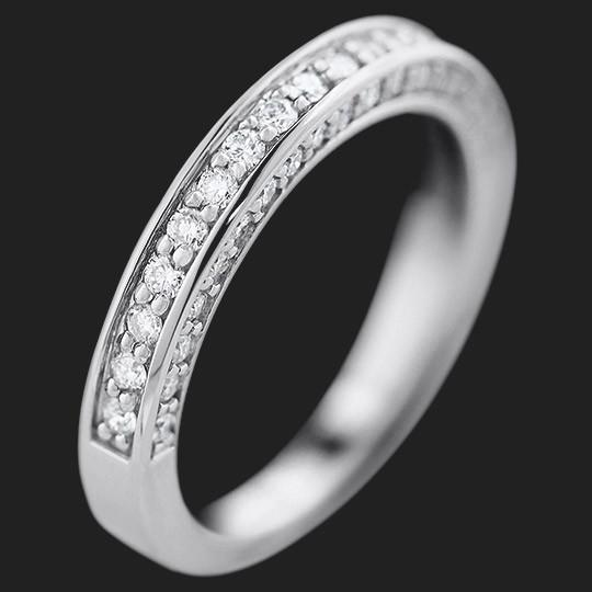 Brinkley Wedding Band shown in 14KW|14KW