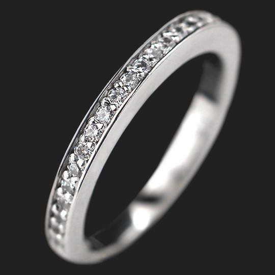 Wanderlust Accented Wedding Band shown in 14KW|14KW