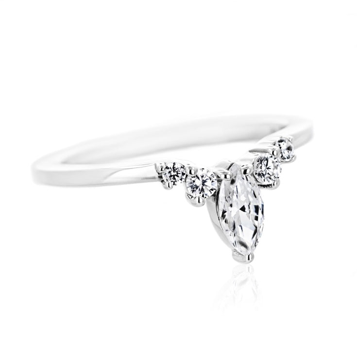Tiara Wedding Band
