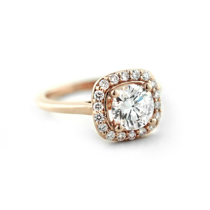 Rosemary Stackable Engagement Ring