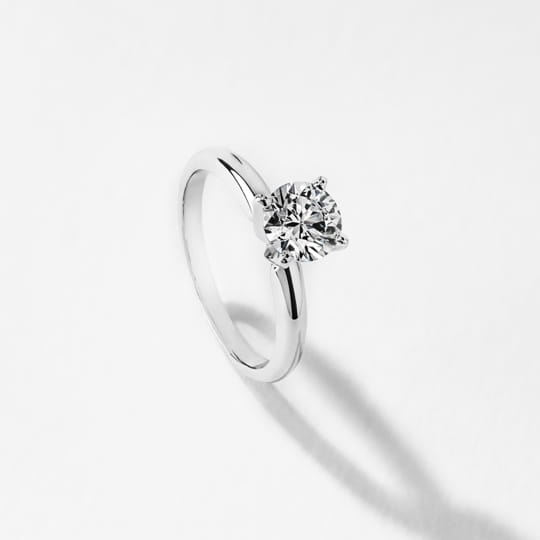 shop solitaire ethical engagement rings