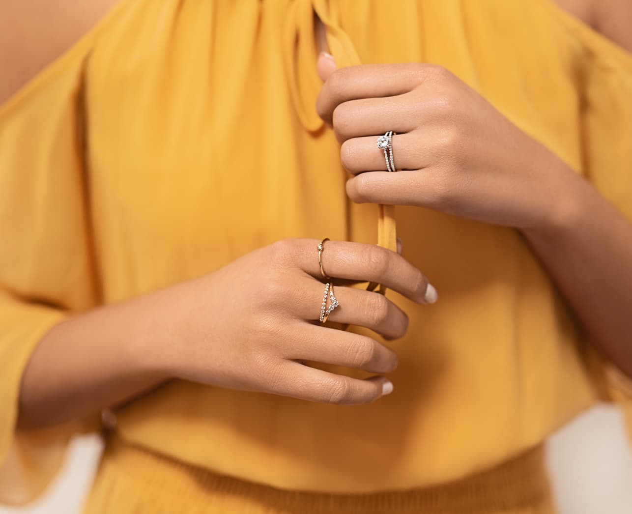 Stackable Wedding Sets and Rings