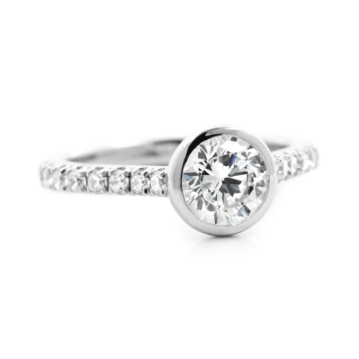 Venise Stackable Engagement Ring