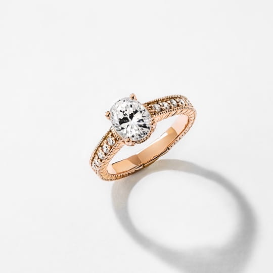 shop vintage engagement rings