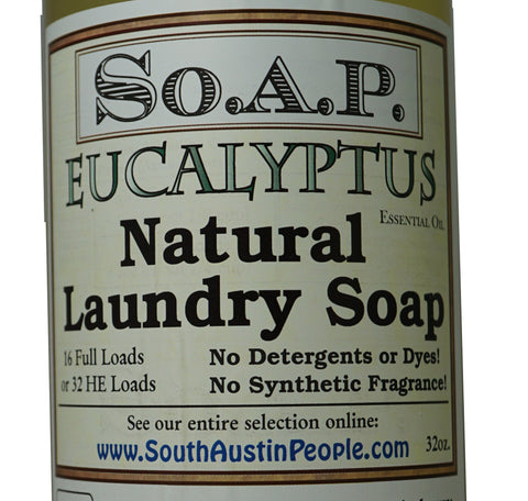 Eucalyptus Laundry Soap 32 oz.