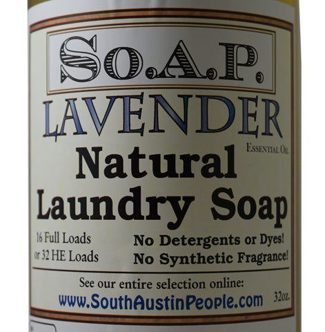 Lavender Laundry Soap 36 oz.