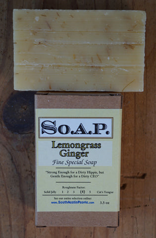 Lemongrass Ginger Bar
