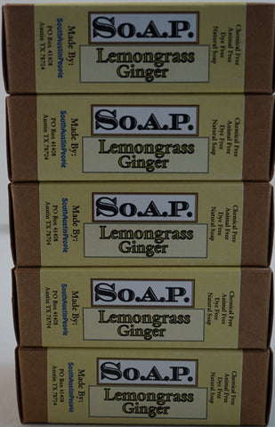 Lemongrass Ginger Bar 5-Pack