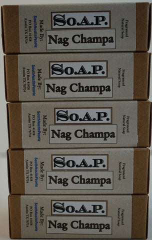 Nag Champa Bar 5-Pack