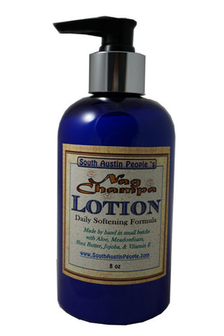 Nag Champa Lotion 8 oz.