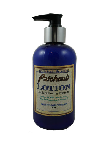Patchouli Lotion 8 oz.
