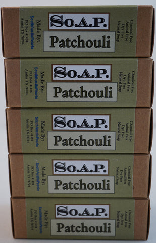 Patchouli Bar 5-Pack