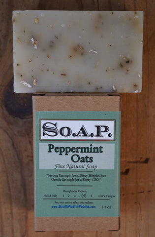 Peppermint Oatmeal Bar