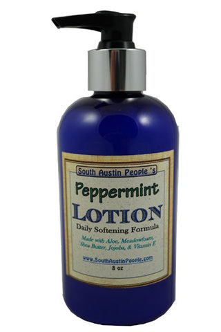 Peppermint Lotion 8 oz.