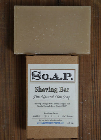 Clay Shaving Bar