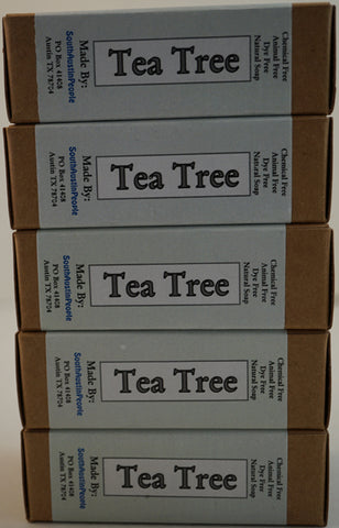 Tea Tree Bar 5-Pack