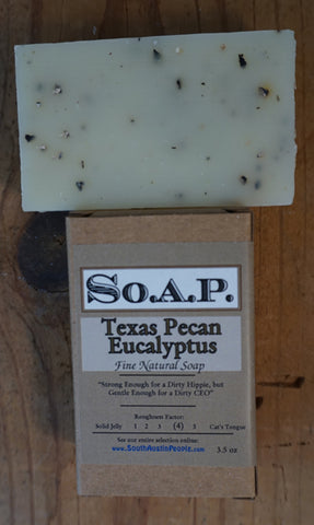 Texas Pecan Eucalyptus Bar