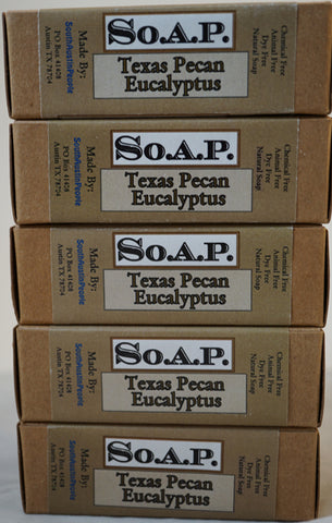 Texas Pecan Eucalyptus Bar 5-Pack