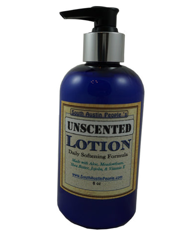Unscented Lotion 8oz.