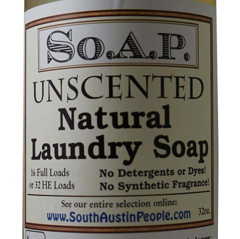 Unscented Laundry Soap 36 oz.