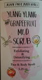 Ylang-Ylang Grapefruit Detox Face & Body Scrub 5 oz.
