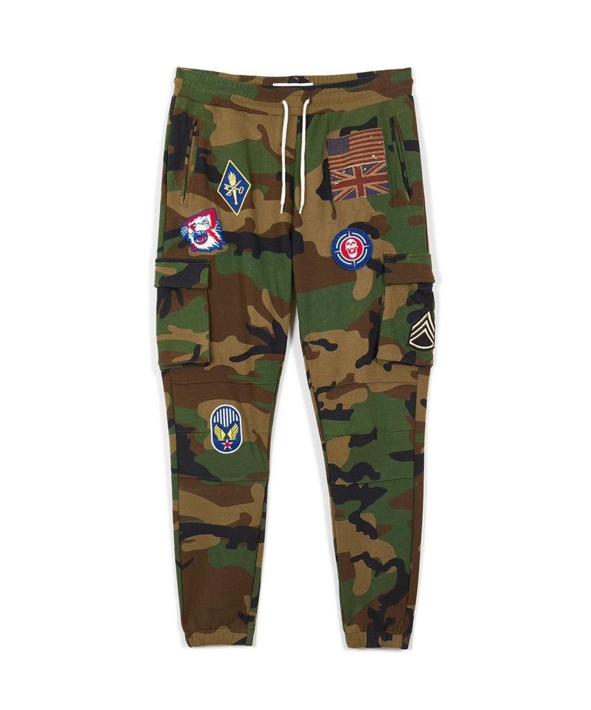 Reason Clothing Regiment Joggers - Camo