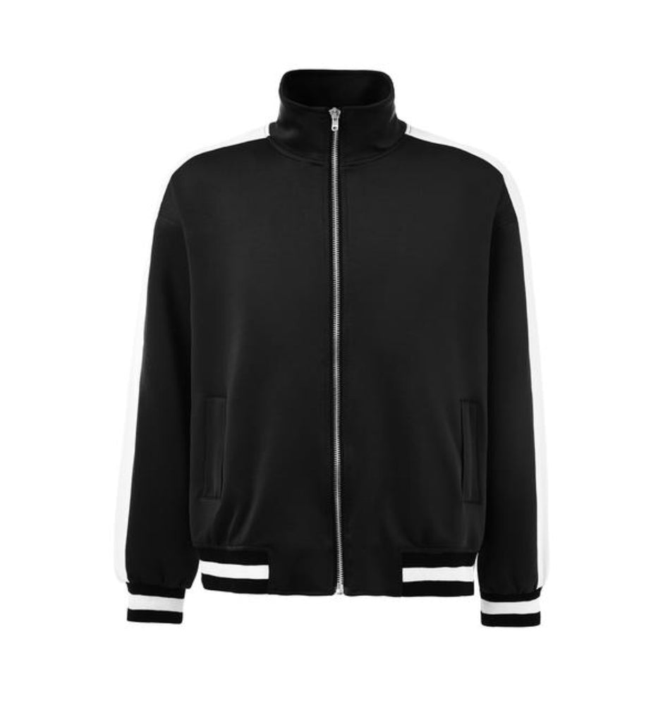 DSRCV Standard Fit Retro Jacket - Black/White